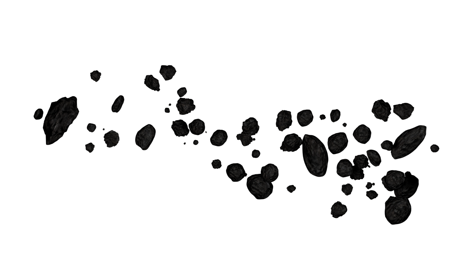 Meteor clipart black and white. Asteroids asteroid belt clip