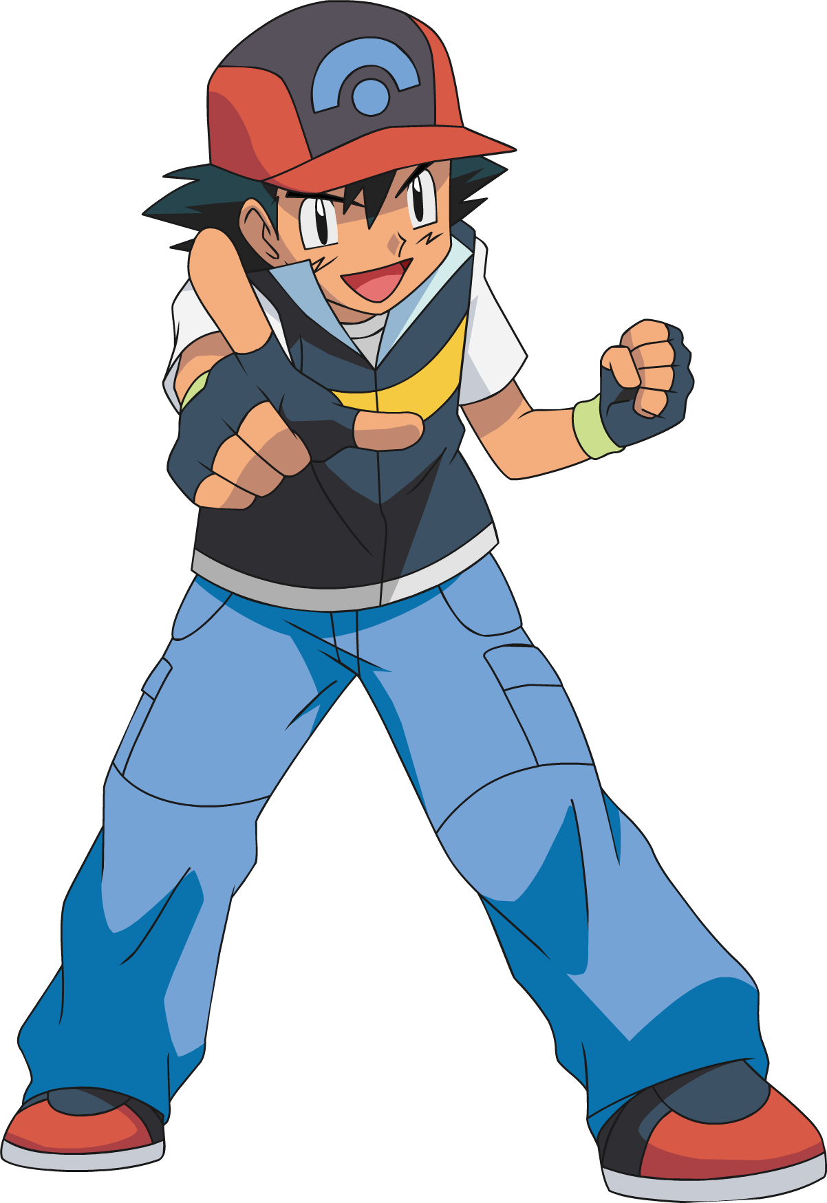 Pokeball clipart transparent background. Ash ketchum diamond pearl