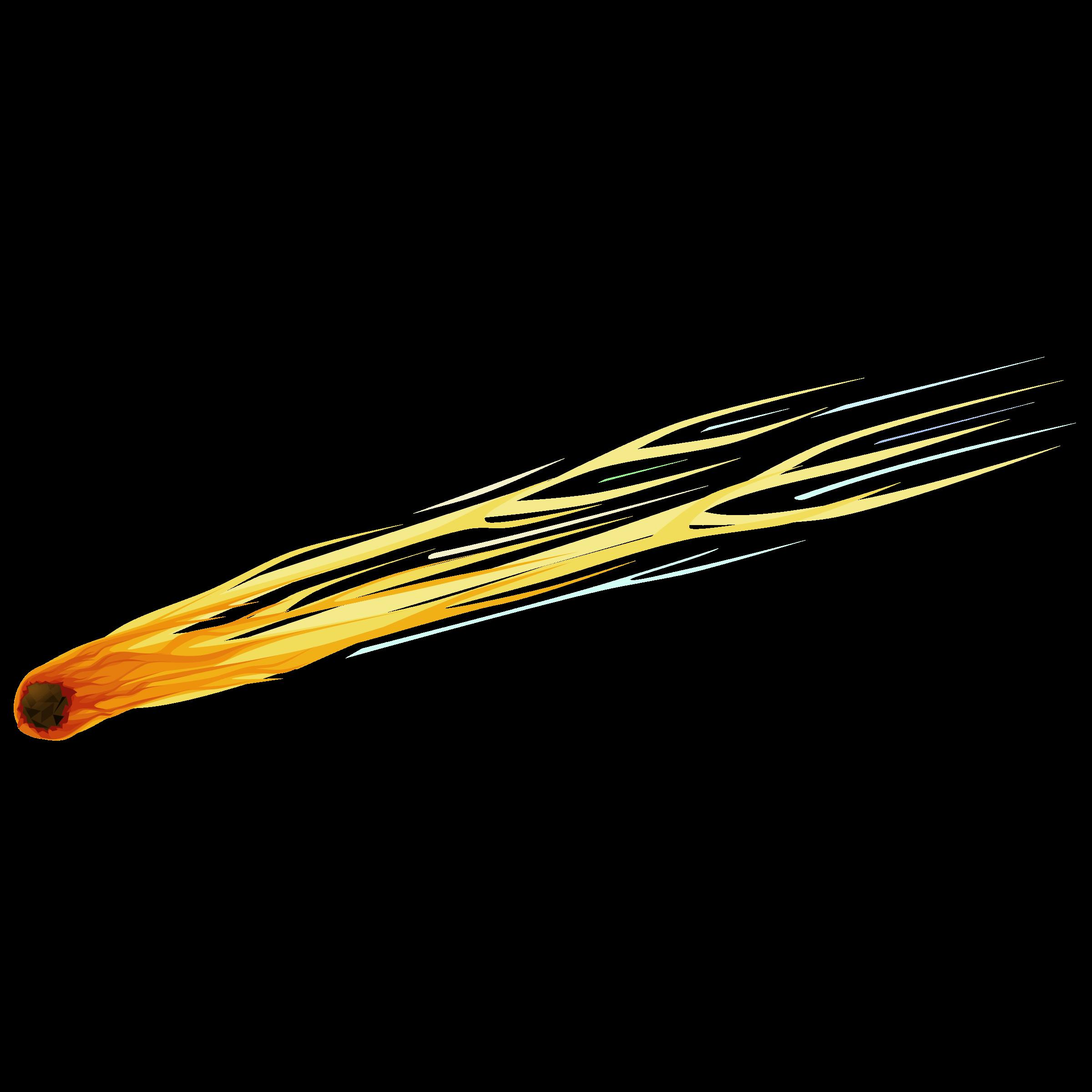 Meteor clipart blue. Cliparts png clipartix
