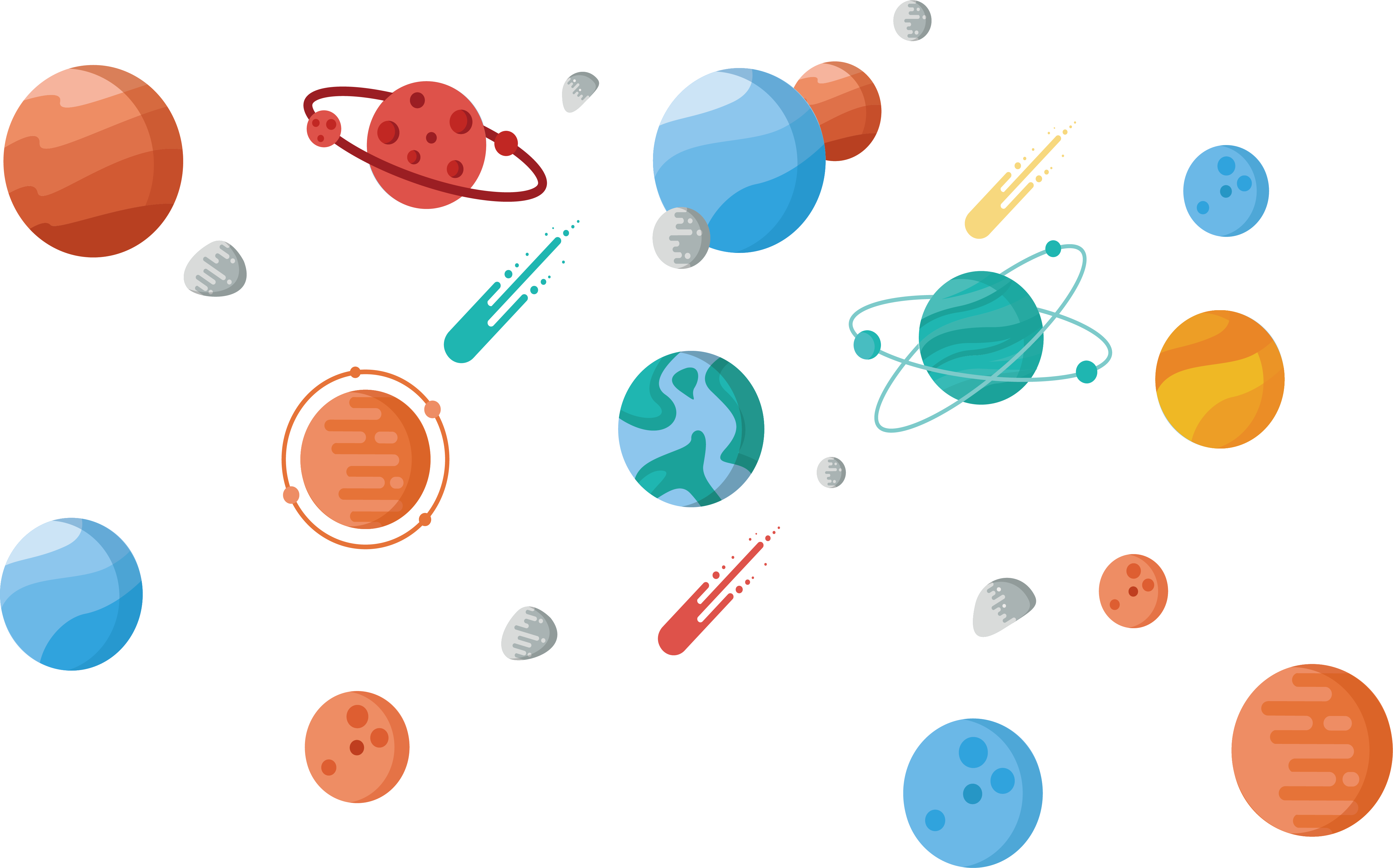 Outer space clip art. Meteor clipart meteorite