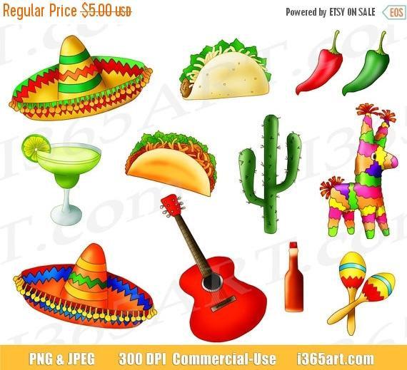 Mexican clipart.  off fiesta clip