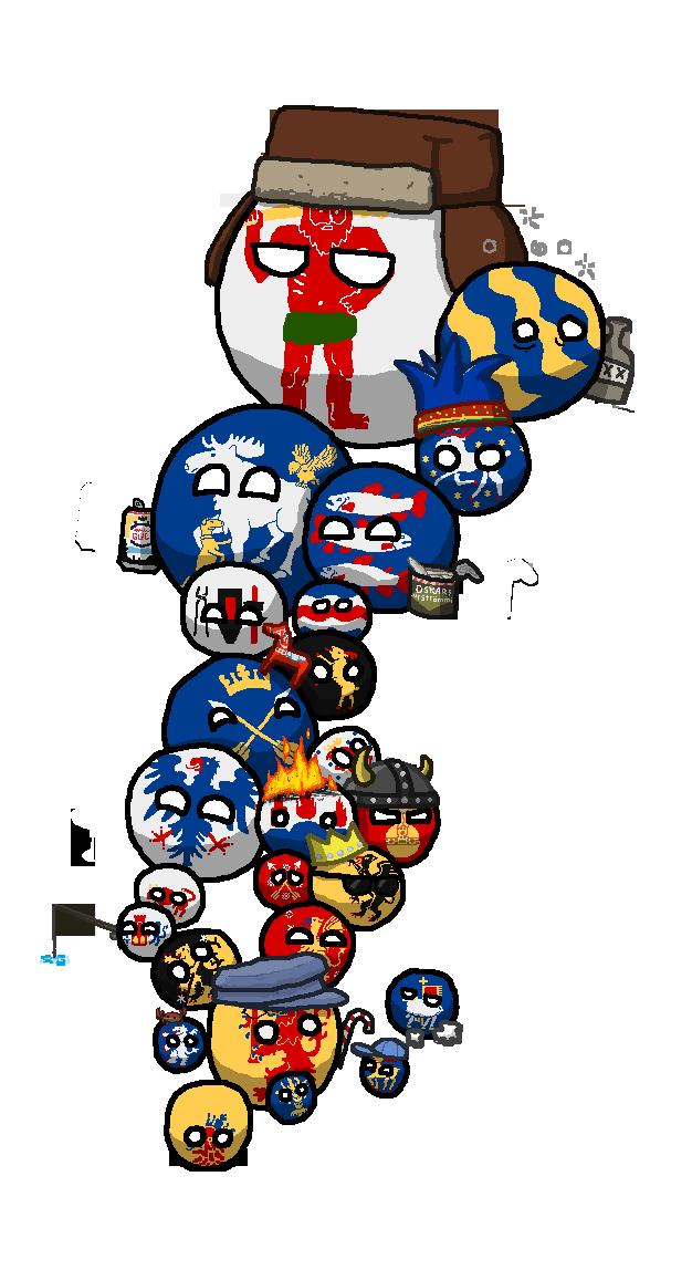 Polandball map of sweden. Mexican clipart attire