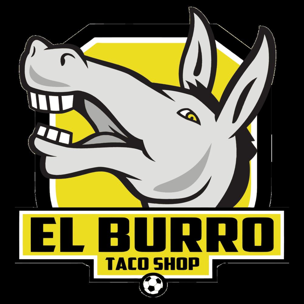 Tacos clipart street taco. El burro shop