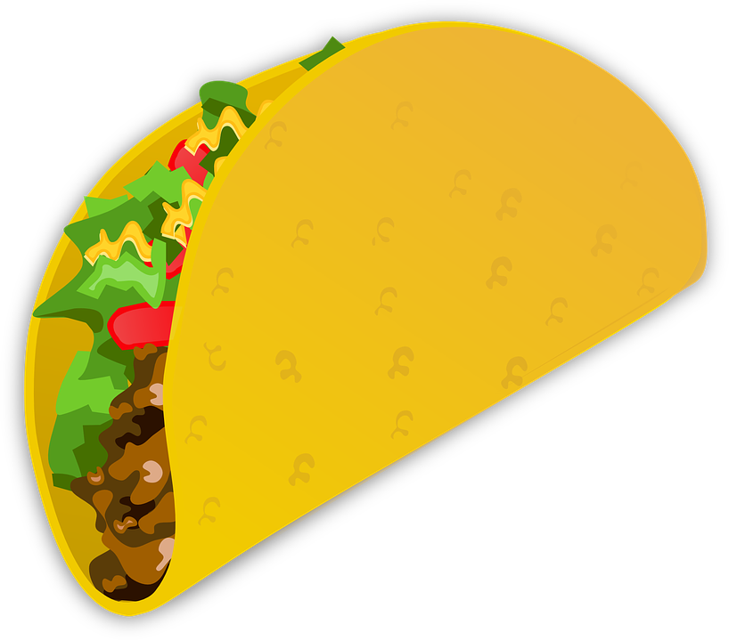 Free use of food. Mexican clipart drawing