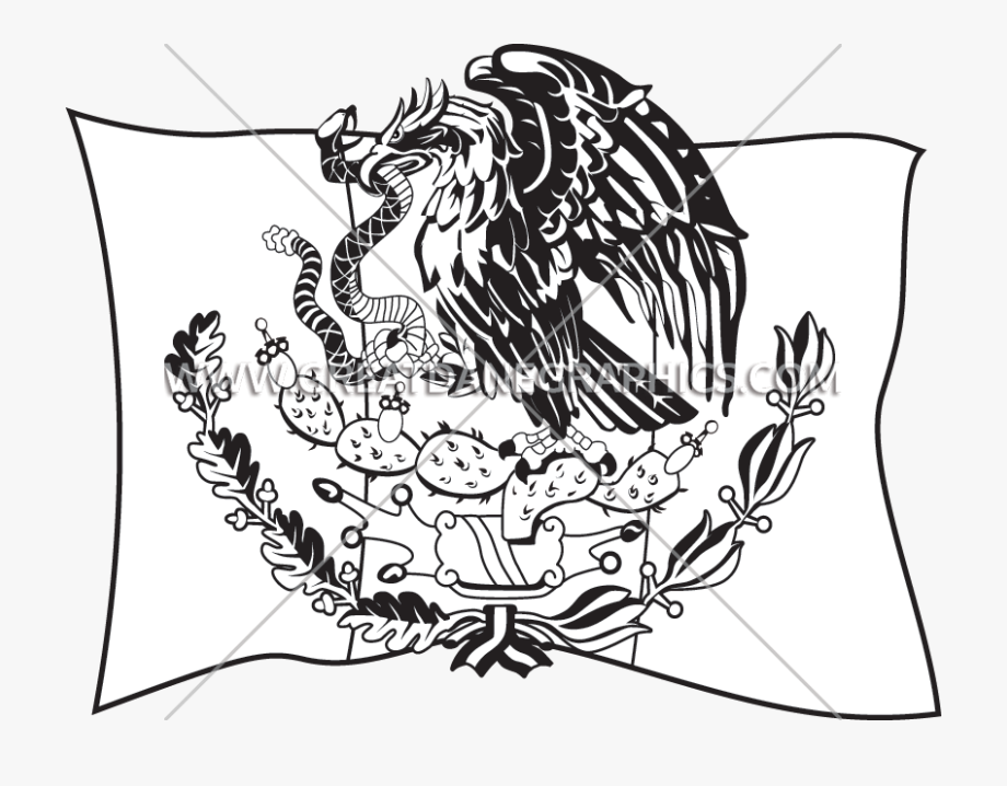 Flag at getdrawings coat. Mexican clipart drawing