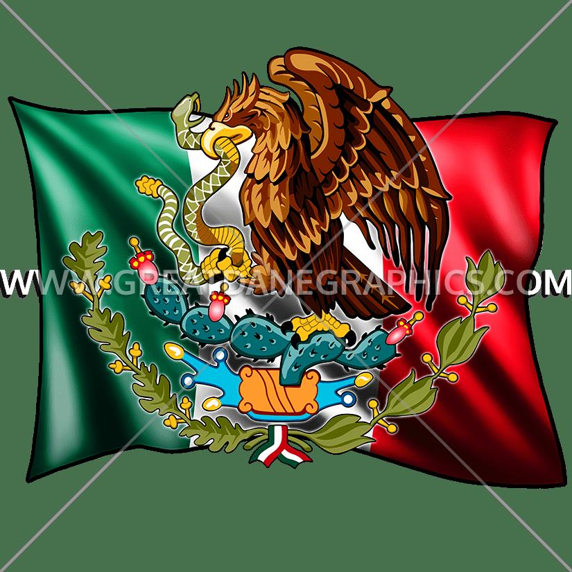 Mexican clipart senorita. Flag production ready artwork