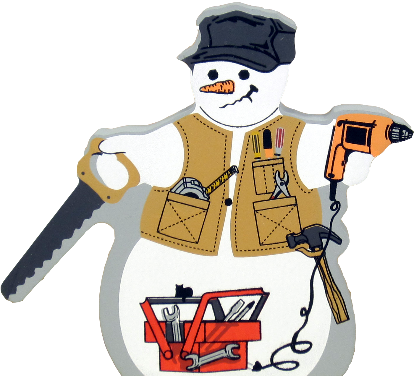 Mexican clipart snowman. Mr fix it the
