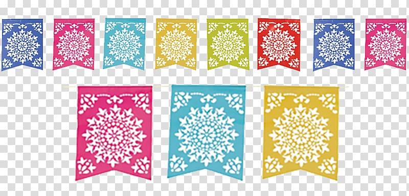 Assorted color lot paper. Papel picado clipart picado banner