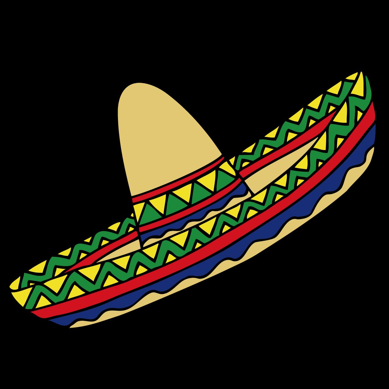 Mexico clipart clothing mexican. Hat clip art cartoon