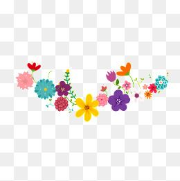 Color flower flowers png. Mexican clipart wreath