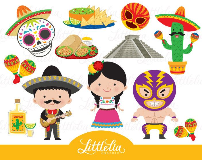 Mexico clipart. Fiesta fiestas mass production