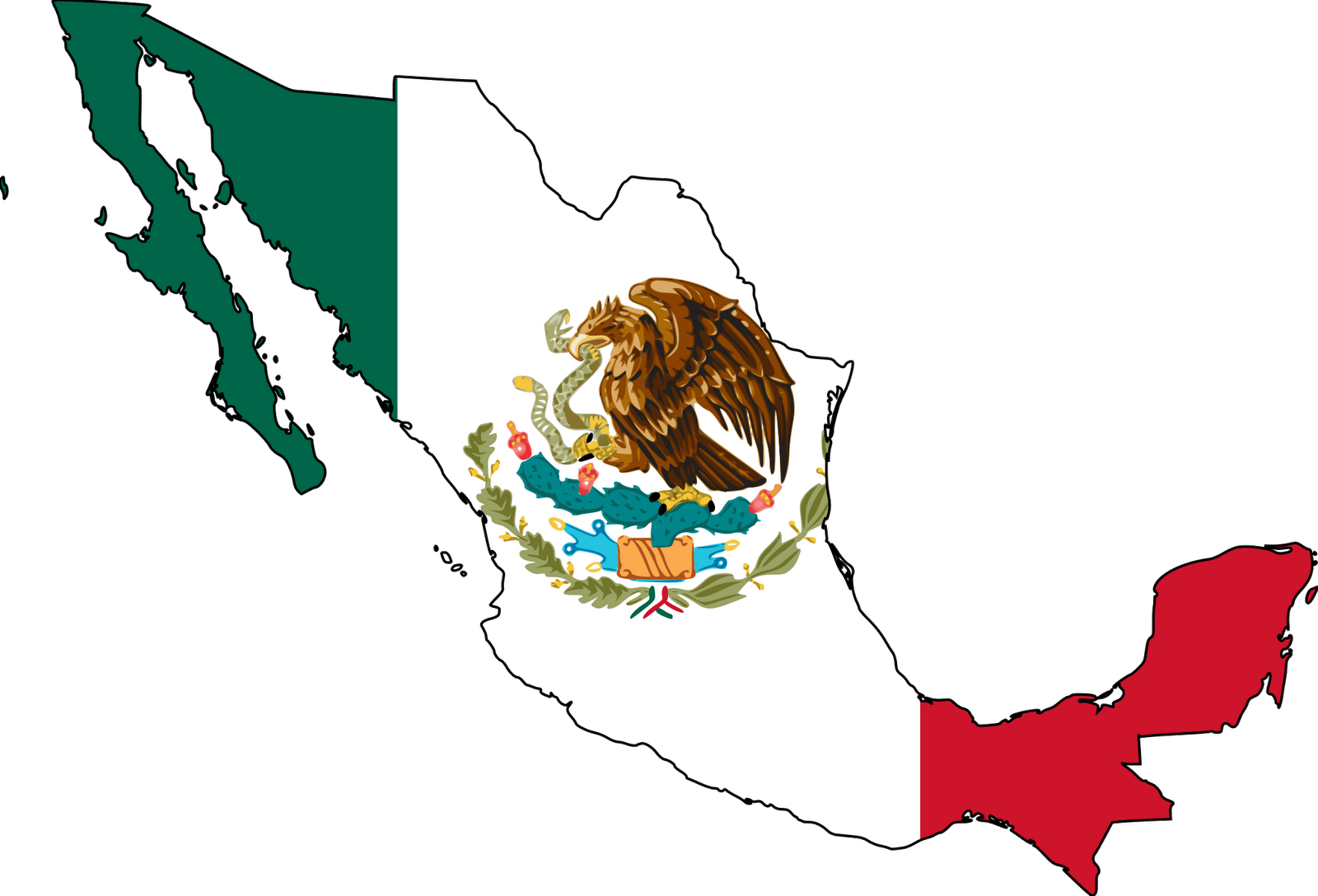 Country of . Mexico clipart
