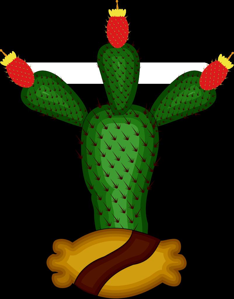 File topoglifo de tenochtitlan. Mexico clipart cactus