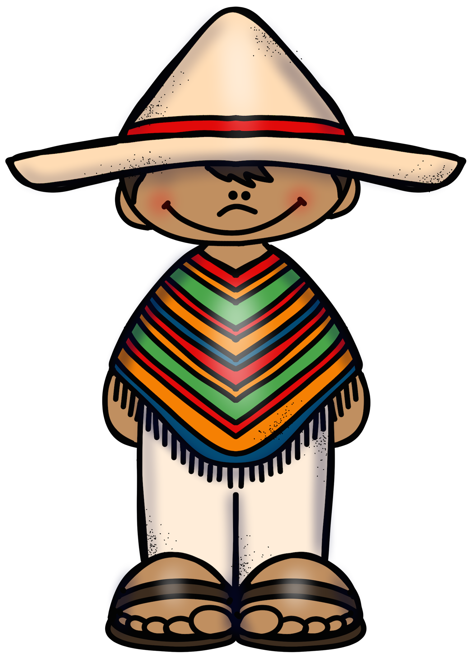 Traditional images gallery for. Mexico clipart clothing mexican
