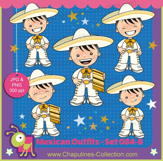 Mexico clipart clothing mexican.  off white and