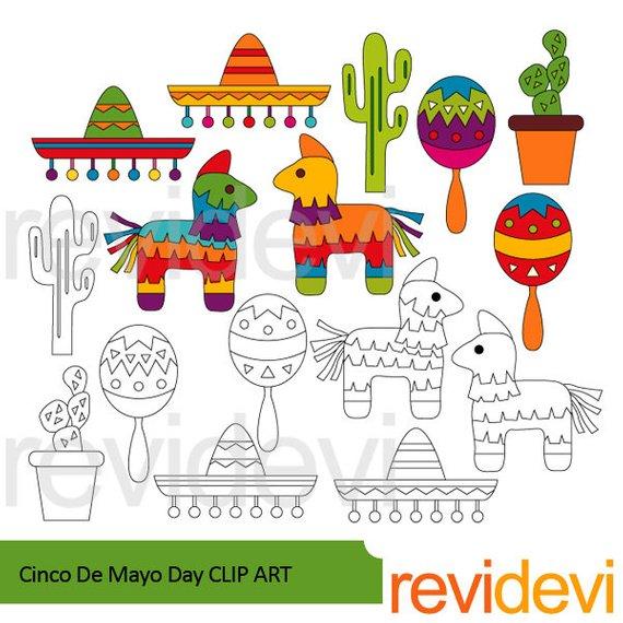 Pinata clipart decor mexican. Cinco de mayo sale