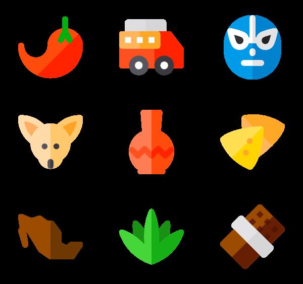 mexican food icon. Tacos clipart vector