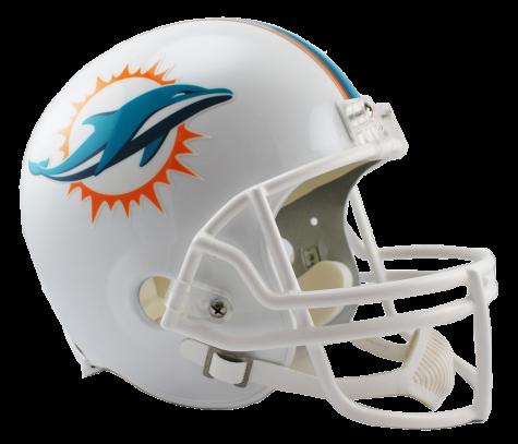 Miami dolphins helmet png. Vsr replica