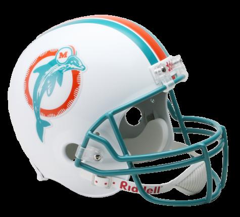 Riddell nfl full size. Miami dolphins helmet png