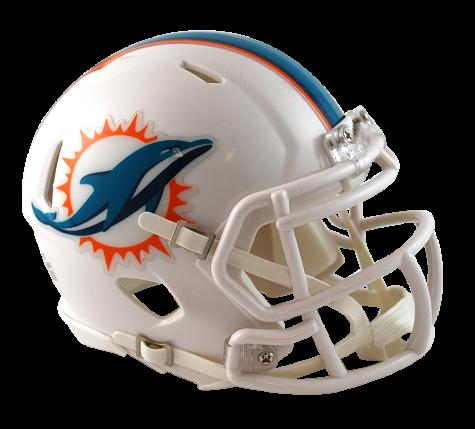 Miami dolphins helmet png. Speed mini pro image