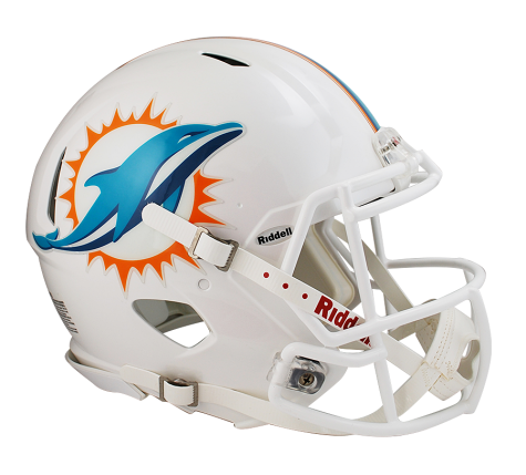 Revolution speed riddell authentic. Miami dolphins helmet png