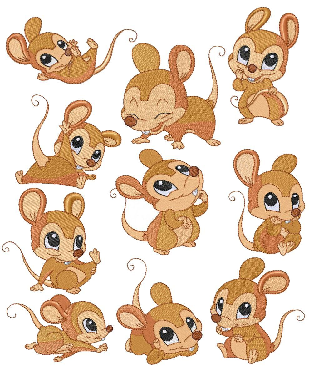 Cute baby mouse by. Mice clipart
