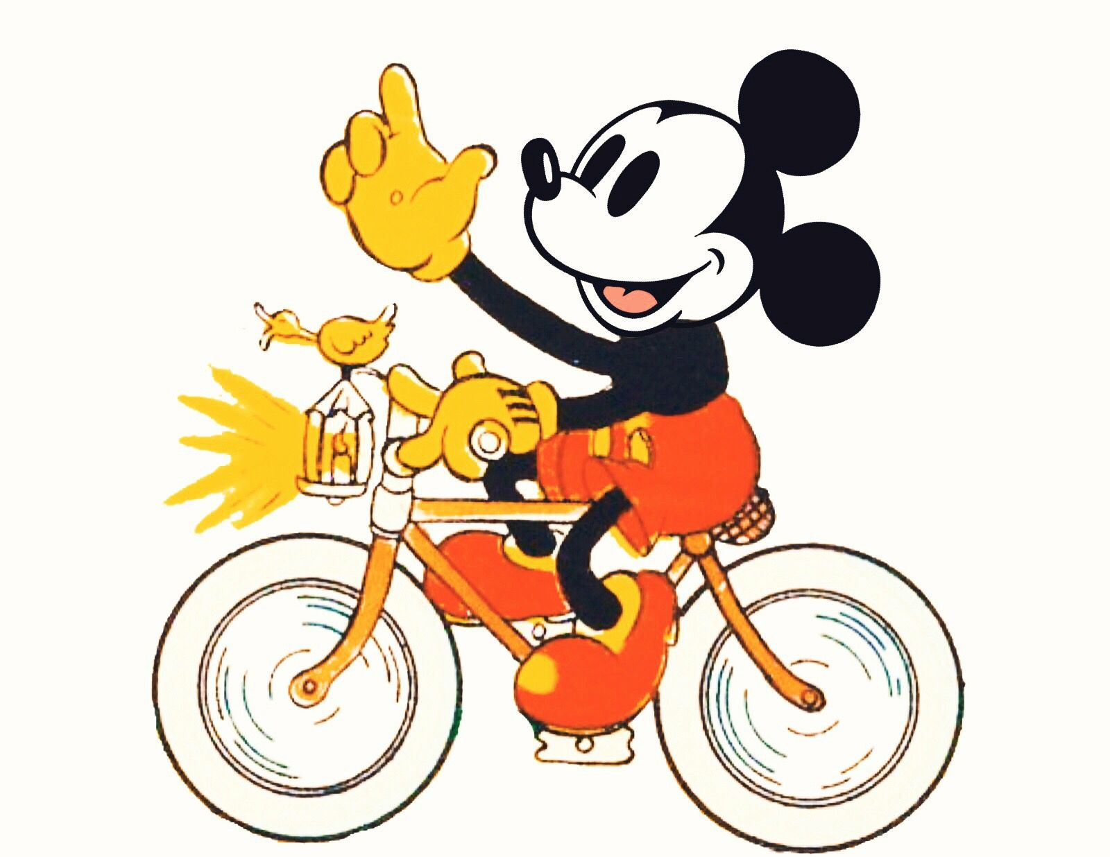 Mice clipart bike. Mickey mouse in favorite