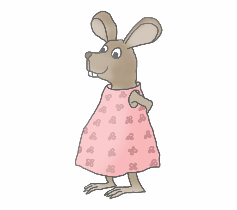 Mice clipart father. Little girl mouse clip