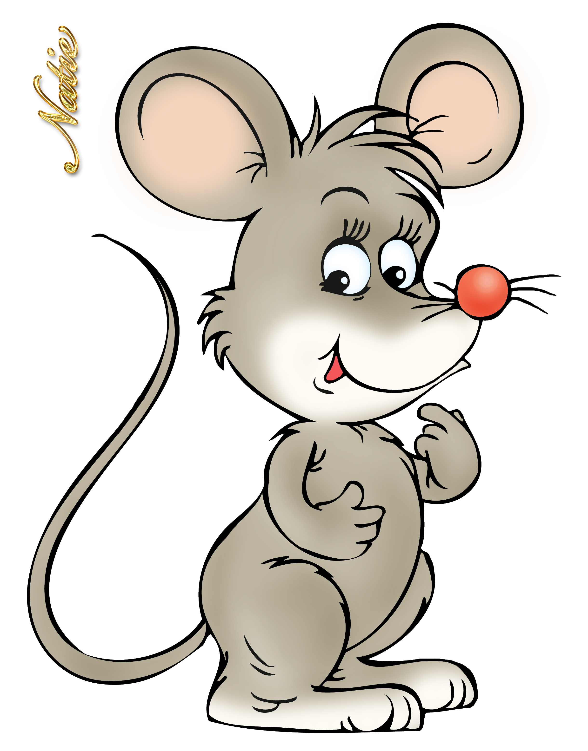 mice clipart mouse tail