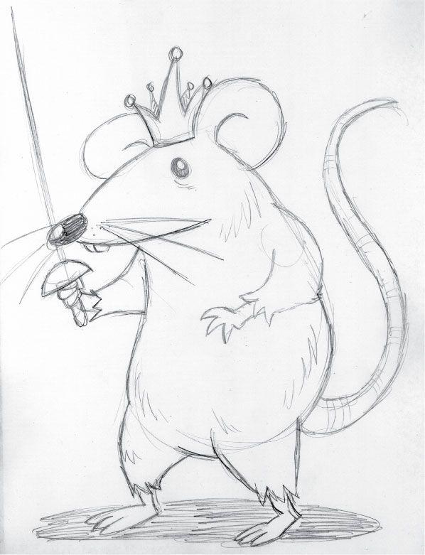 mice clipart sketch