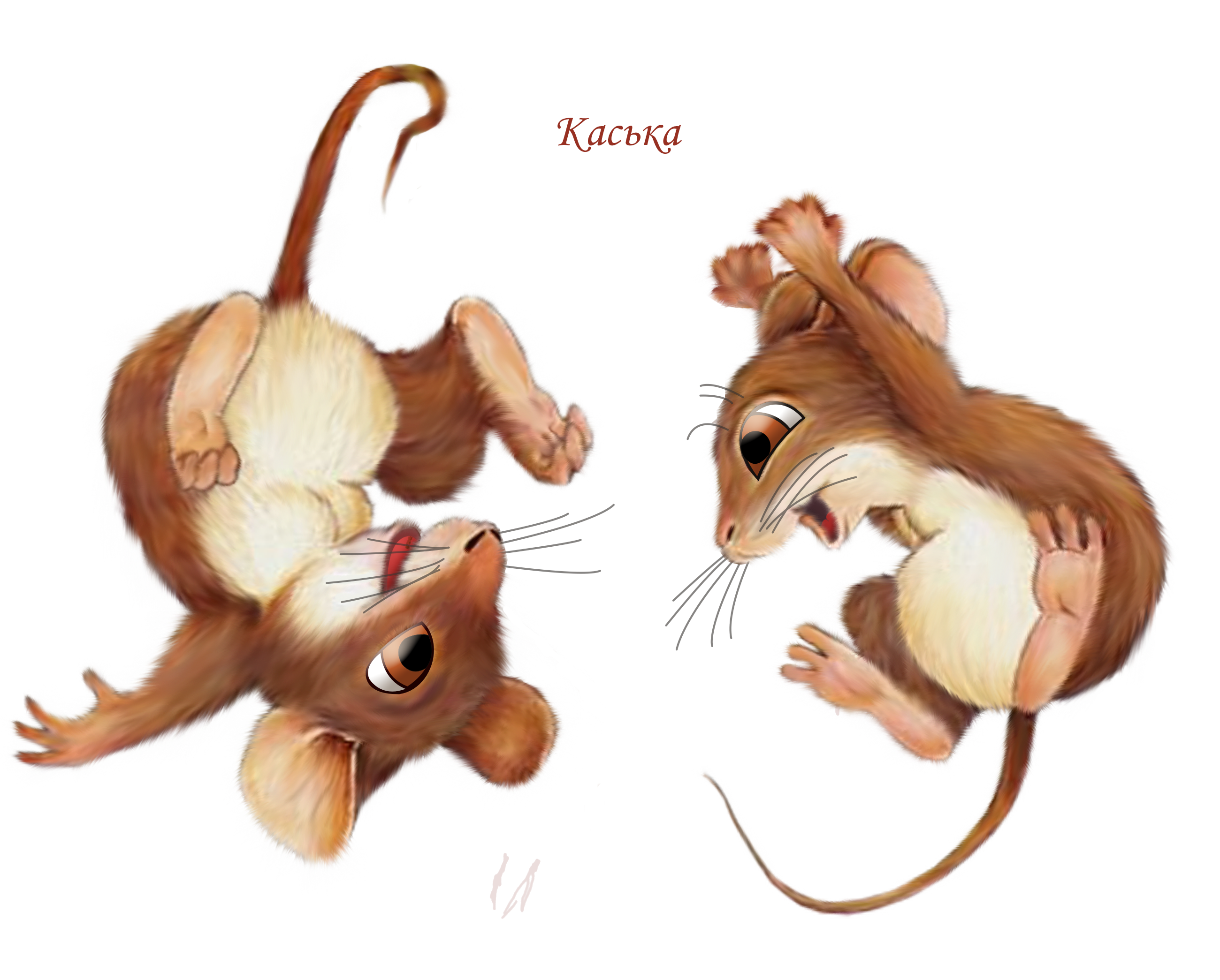 Mice happy flips rats. Mouse clipart three blind mouse
