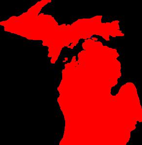 Michigan clipart. Clip art at clker