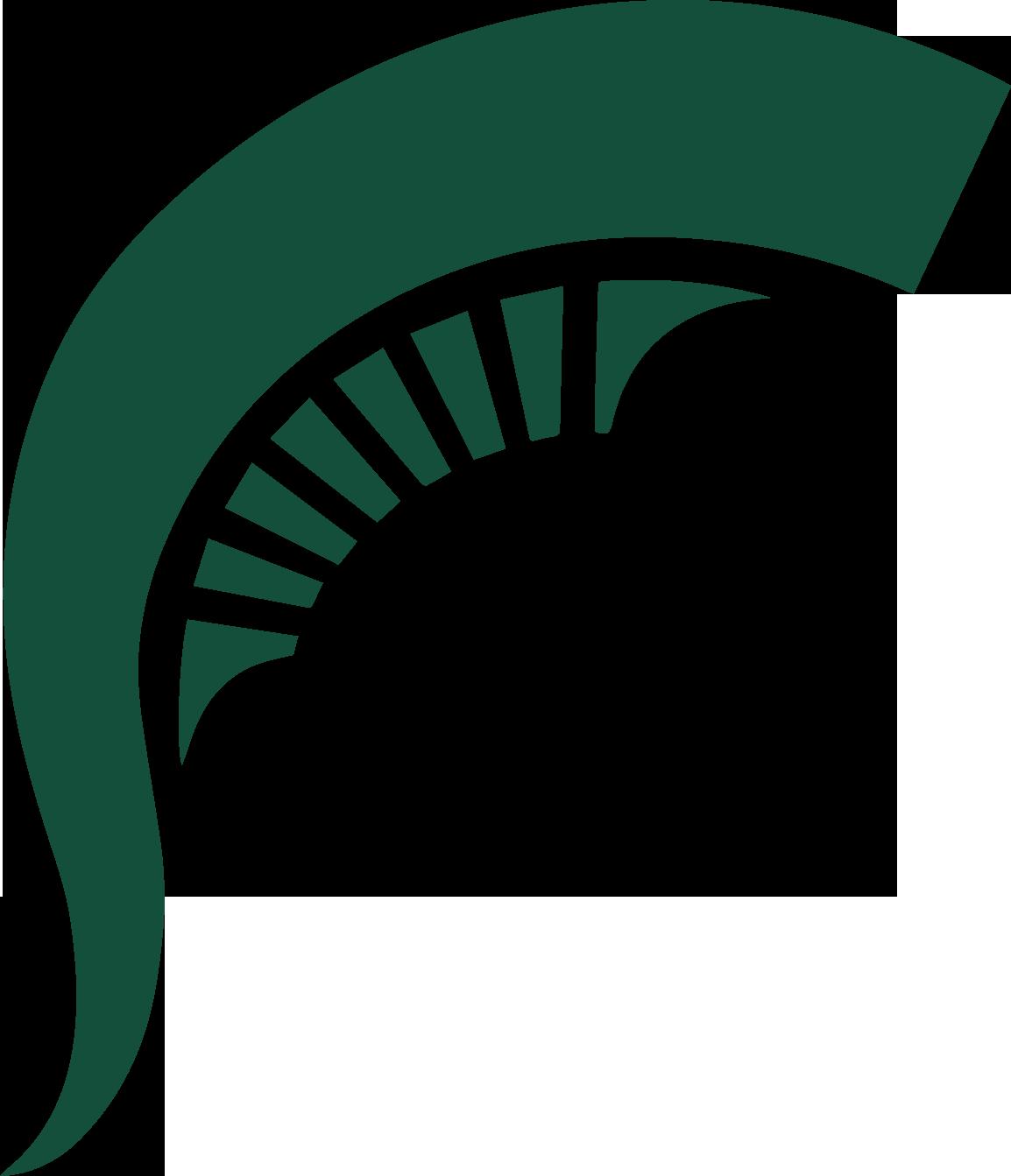 Spartan clipart logo spartan. Msu logos