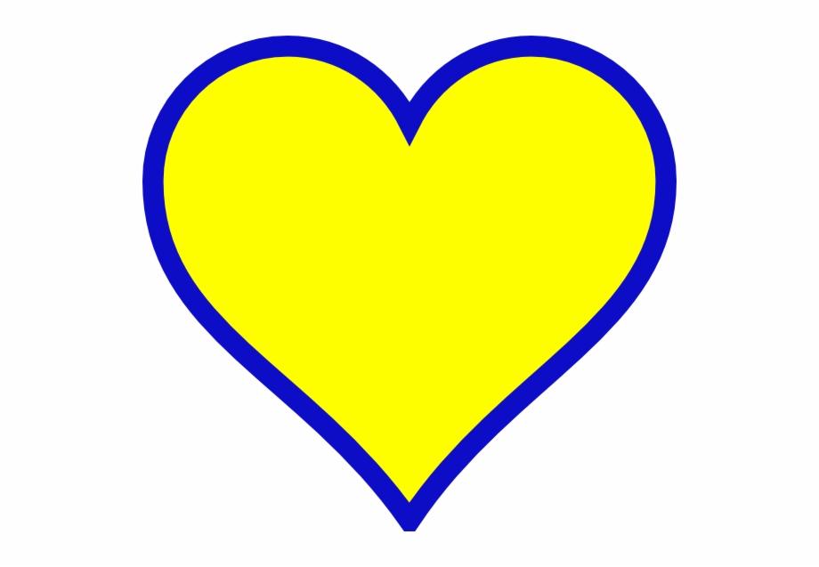 Blue gold svg clip. Michigan clipart heart