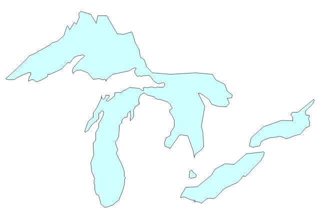 Michigan clipart lake. Sky background hand transparent
