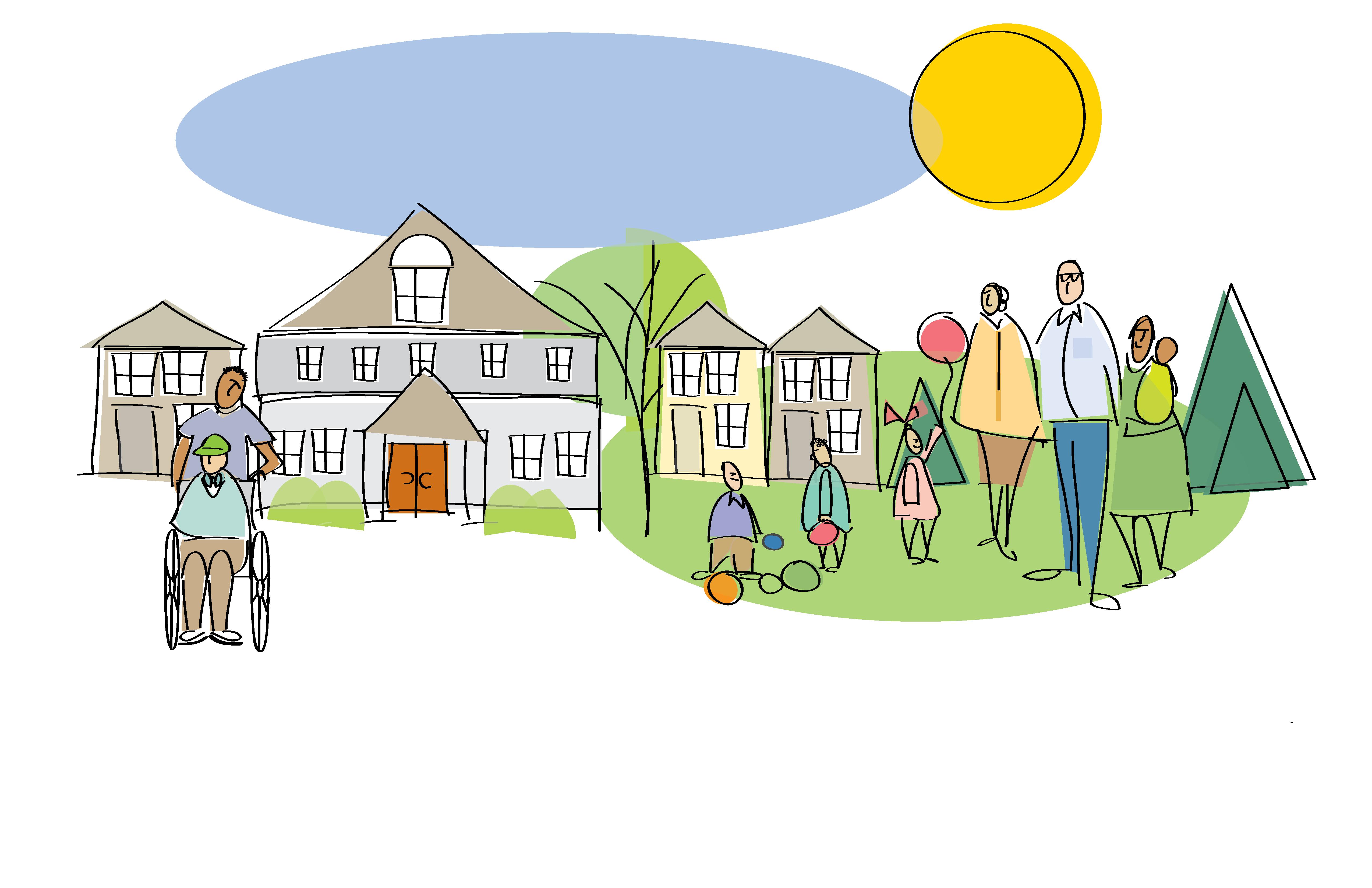 About samaritas michigan illustration. Patient clipart retirement home