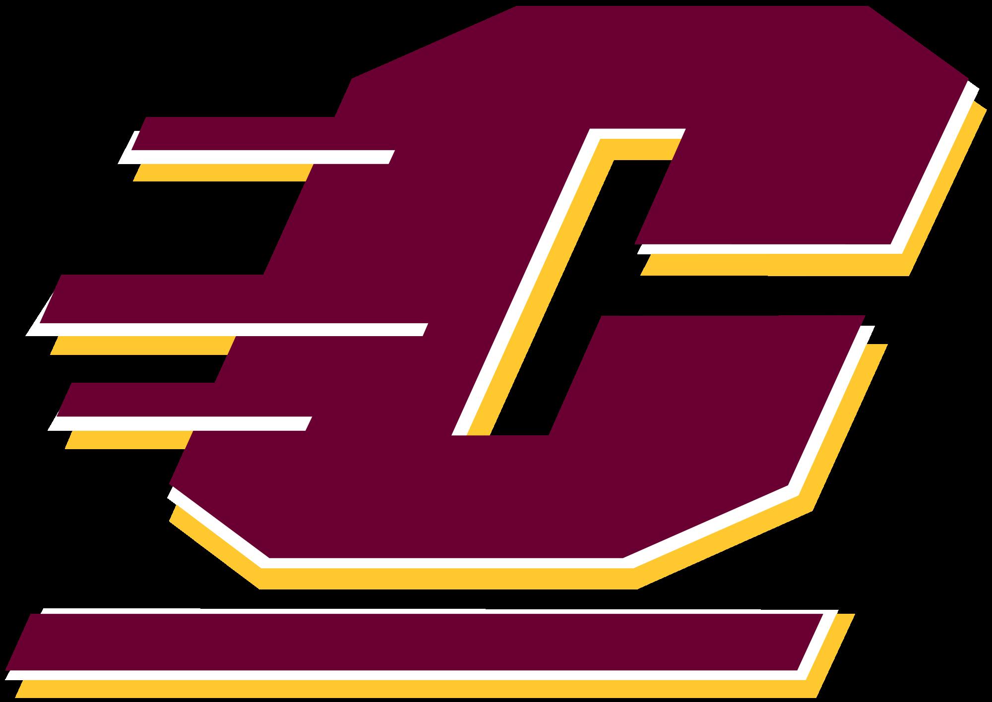File central chippewas logo. Michigan clipart michigan university
