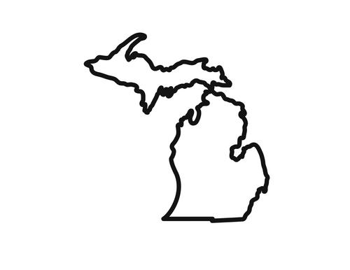 Michigan clipart mitten. Free download best on