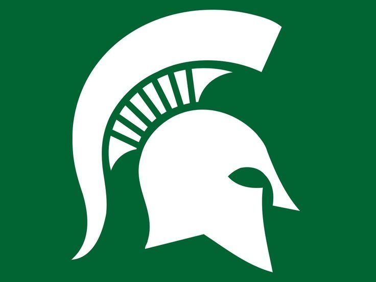 Michigan state university clip. Spartan clipart logo spartan