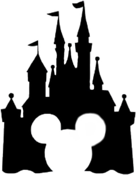 Mickey sleeping beauty castle. Palace clipart minnie mouse