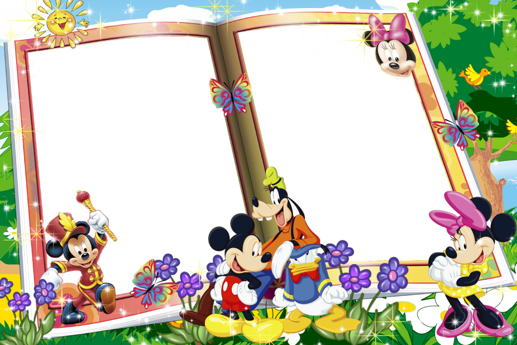 Wallpapers high quality download. Mickey mouse frame png