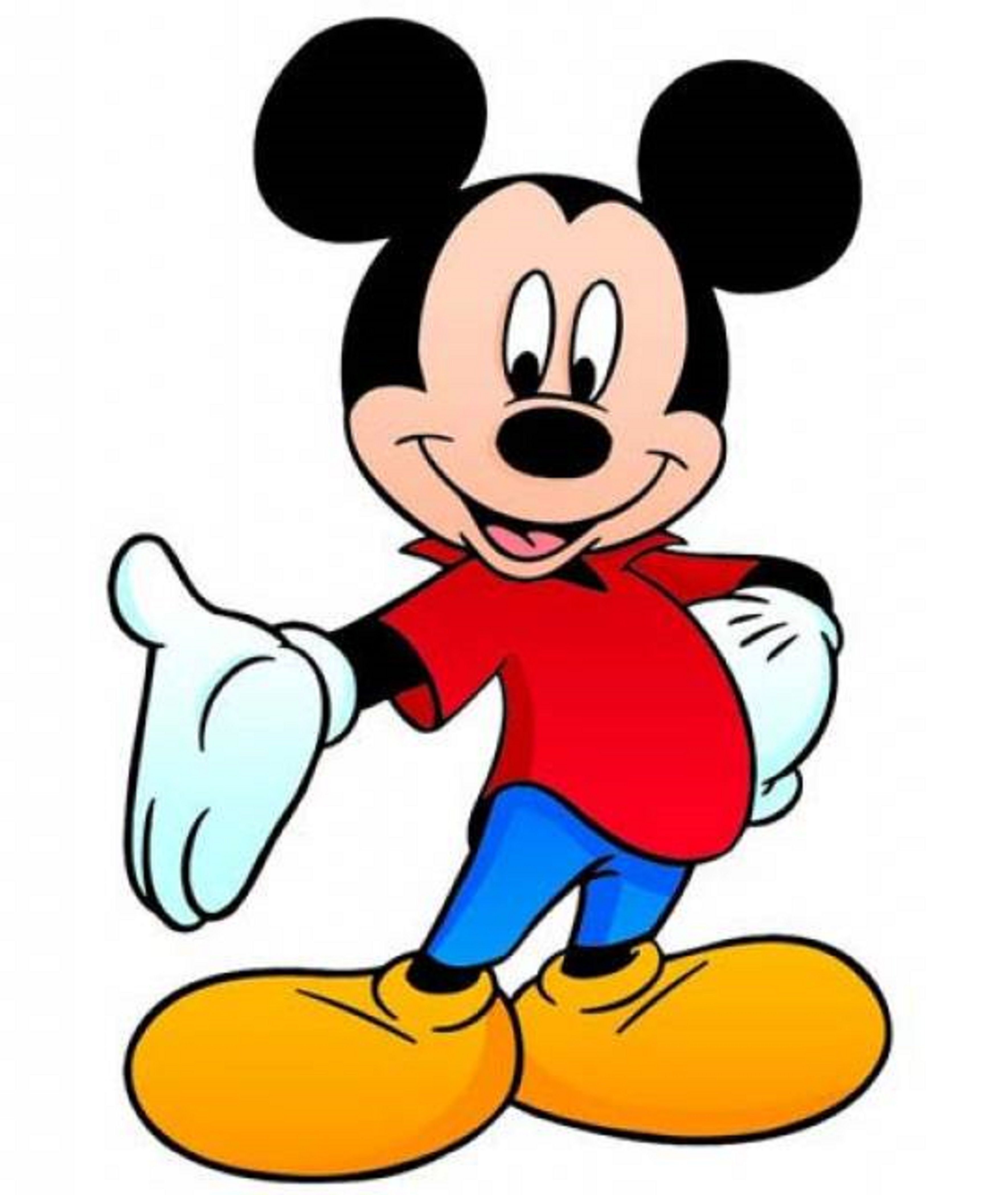 Mickey clipart micky. Mouse redbubble in cartoon