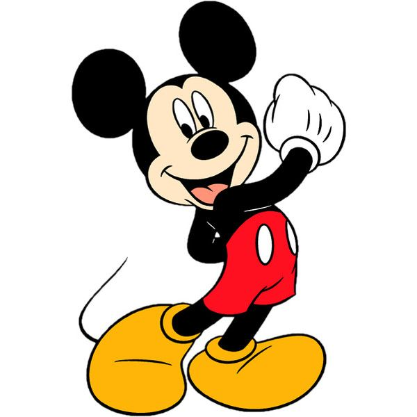 Mouse liked on polyvore. Mickey clipart micky