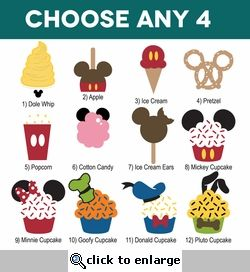 Mickey clipart snack. Pin on disney scrapbook