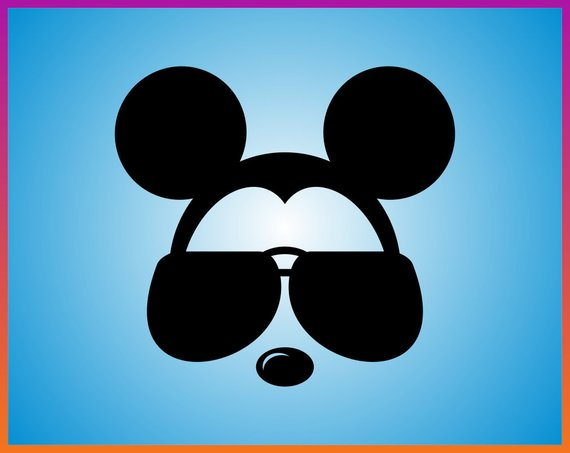 Mickey clipart sunglasses. Pin on products