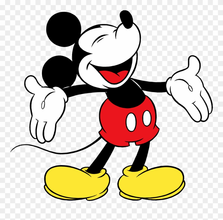 Mouse classic png . Mickey clipart vintage mickey