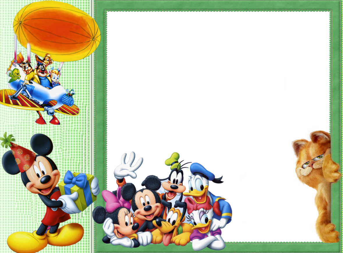 Merry christmas frames months. Mickey mouse frame png