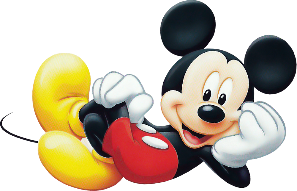 Cartoon character only picture. Mickey mouse png images