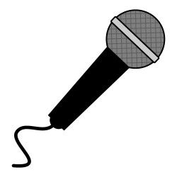 Free from icontoon com. Microphone clipart