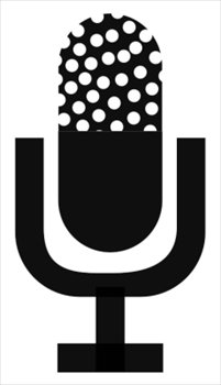 Microphone clipart. Free old graphics images